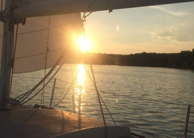 2016 - Sailing Sunset