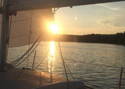 2016 - Sailing Sunset
